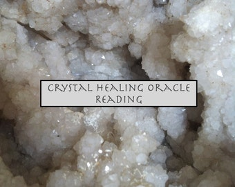 "One ""One Card Draw"" Crystal Healing Oracle Reading, Will Respond Within 48 Hours"
