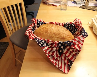 Cross Stitch Bread Covers