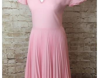 Prom style dress 1980's vintage. Size 8-10
