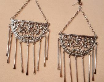 Edie Sedgwick Inspired  Filageree  Dangle earrings