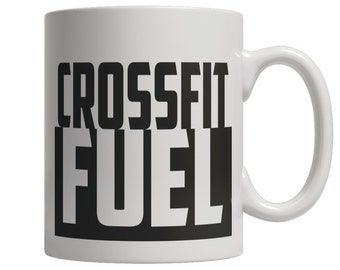 Crossfit Fuel Mug - Great Gift for Coffee & Crossfit Lover - Crossfit Gift for Men - Crossfit Gift for Him - Crossfit Coffee Mug