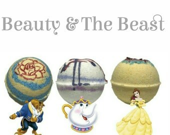 Beauty And The Beast Inspired Bath Bomb