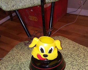 1950's  Ken-L-Ration Fido lamp