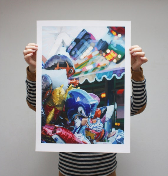 Balloons - Limited Edition Print - 61cm x 44cm