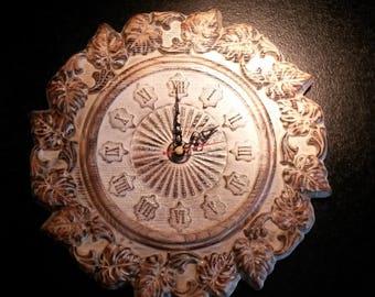 Unique vintage wall clock