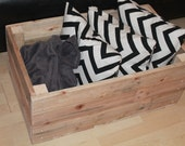 Living Room Tidy Wooden Box Wooden Storage Box Storage Box Living Room Box Storage Wooden Storage Reclaimed Wood Blanket Box