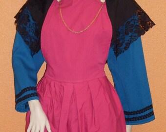 Bresse woman costume, ref: B5, size 48/50.