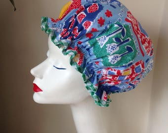 showercap/bath hat dutch design