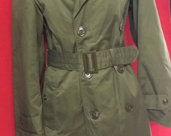 Vintage Military Trench coat
