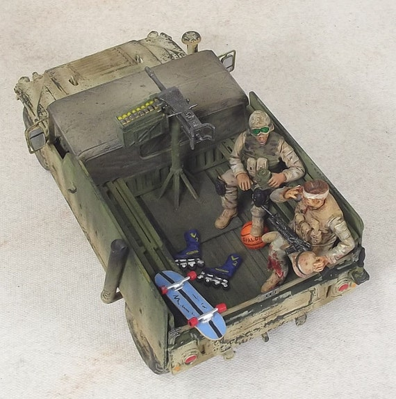 "1/35 Built Hummer "" I told you """