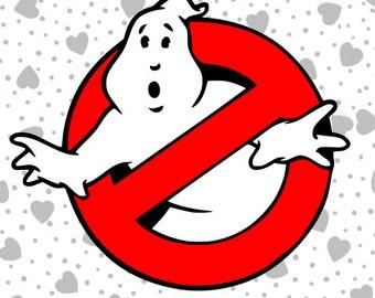 Ghostbusters Logo SVG File. Cricut Explore & More