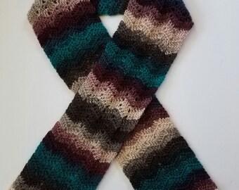 Chevron Crochet Scarf