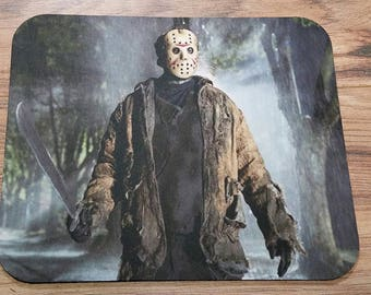 Friday the 13th Non-Slip Mouse Pad