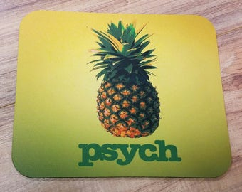 Psych Logo Non-Slip Mouse Pad