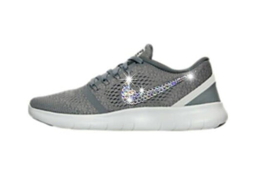 753a8ab1556f12 85%OFF Bling Nike shoes with Swarovski crystals by InsaneCrystals on Etsy