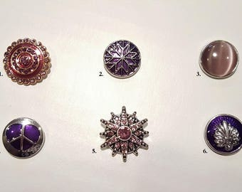 Snap Jewelry, Snap Buttons, Snap Charms