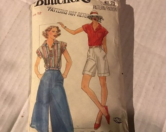 Butterick Pattern 5373