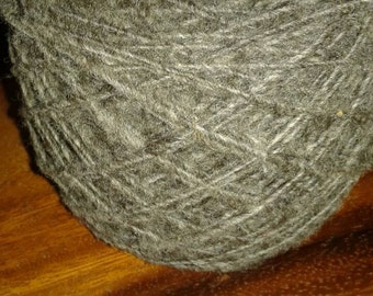 Sheep's wool wheelspun single ply 2oz