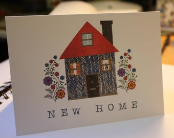 Home is where the Heart is- greetings card