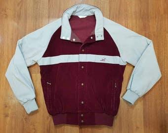 Stranger Things Jacket, Jardi Jacket, 70s Jacket, 80s Jacket, Vintage Jacket, Vintage Corduroy Jacket, Corduroy Track Jacket