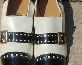 Vintage classic Spectator Loafers