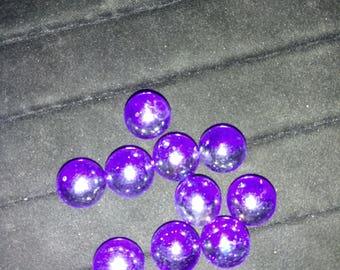 "10 - 5/8"" Shiney Royal Blue Marbles"