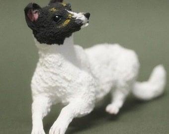 """Dog figurne """"Jack Russell Terrier"""",dog statue,dog sculpture,dog"""
