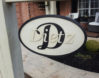 Home Signage indoor or outdoor unpainted variations of size to personalize
