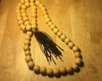Tan necklace