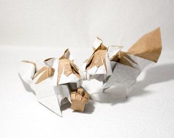 Origami Chipmunk(couple)