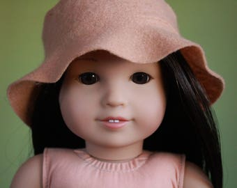 Floppy hats ~ 18 inch doll clothes