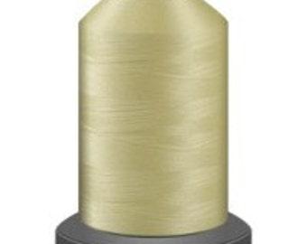 Lemon ice thread, glide trilobal polyester no 40, Tex 27, sewing thread, quilting thread, 1000m cone
