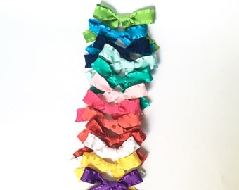 Ruffle ribbon Nora bow