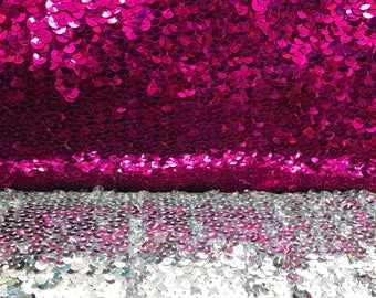 """Stich Sequins all over on stretch base 2way stretch 40/41"""" Sold by the YD. Ships worldwide from Los Angeles California USA"""