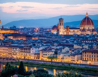 Florence Italy Photography, Florence sunset
