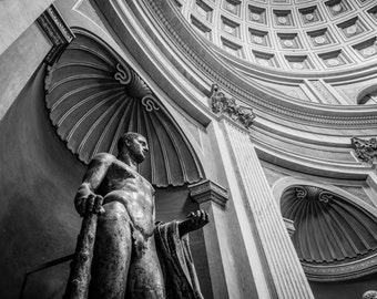 Vatican, Rome, Italy, Sculpture Italy Print, Photographic Print, Renaissance, Architectural Photo, Rome Photo, Italy Photography
