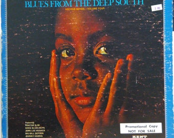 "V/A Anthology Of The Blues ""Blues From Deep South"" Achive Series Vol 4 Gatefold Kent Promo"