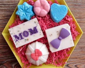 Mother's Day Gift Set; Goat's Milk Soap; Bath Bombs