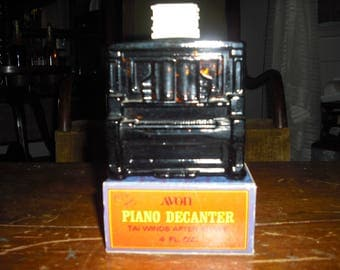 Avons Piano Decanter takes you back to the Plaver Piano's of the old West.