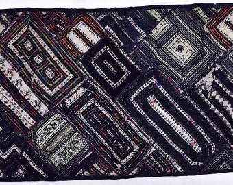 Vintage Patchwork Wall Hanging Decorative Tapestry Wall Throw Gypsy Hpme Decor