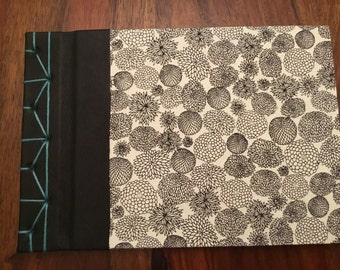 A5 handmade Japanese stab bound sketchbook journal