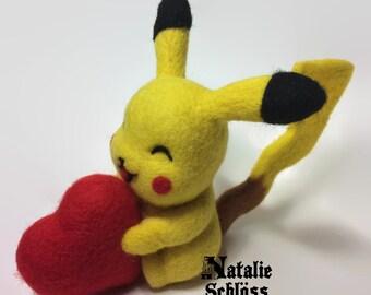 Pokemon Pikachu with heart 11 cm