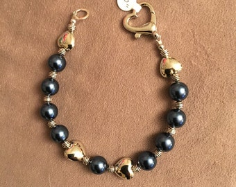 """Moonlight """"Pearl"""" Doggie Necklace"""