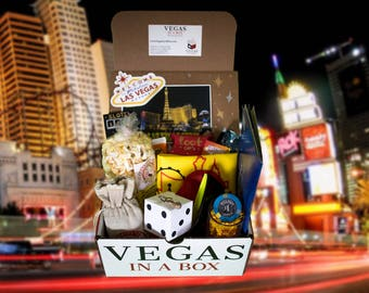 Vegas in a Box Welcome to Las Vegas Box