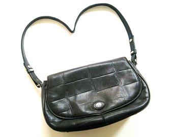 80s 90s VinTage AIGNER bag LeaThEr FasHion Weekender bag 80s 90s