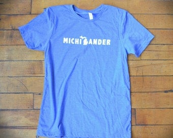 Michigander T-Shirt (Blue)