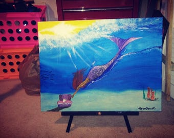 Magical sea painting