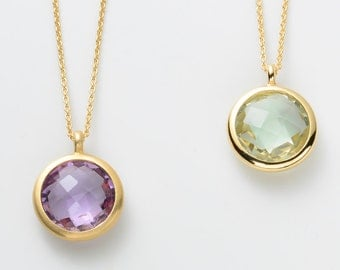 Collier MOON 750/yellow gold