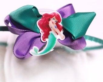 The Little Mermaid Hairband, Mermaid Hair Band for Girls, The Little Mermaid Ariel Hair Accessory, Girls Hairbands, Ariel Thin Hair Bands