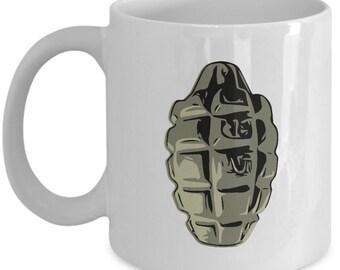 BabooBazaa US Army Weapon Bomb Tea Coffee Mug